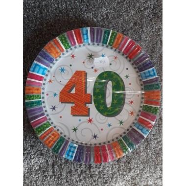 Tányér 40-es