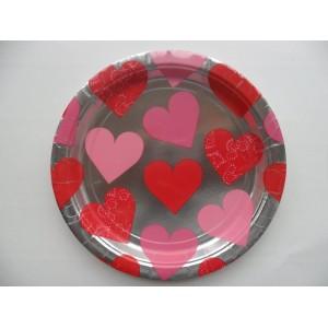 Szívecskés tányér