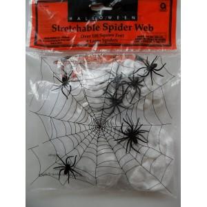 Pókháló négy pókkal