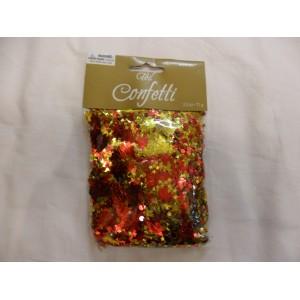 Mikulás virágos konfetti