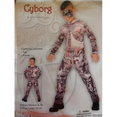 8-10 éves Cyborg Robot