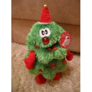 Zenélő táncoló karácsonyfa