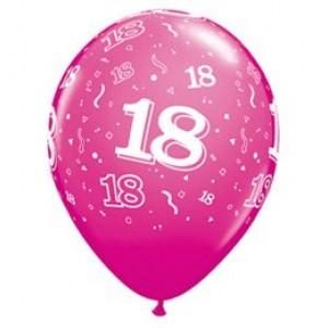 18-as számú 11' gumi lufi