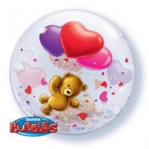22' macis bubbles szerelmes lufi