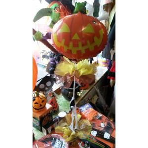Halloween asztali dìsz fóliás lufival