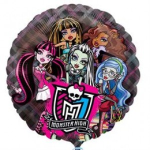 Monster High 26' bubble fóliás lufi