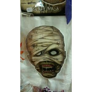 Zombi karton maszk