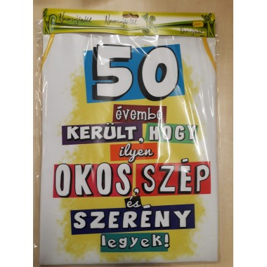50- es kötény