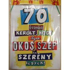 70- es kötény