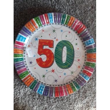 Tányér 50-es