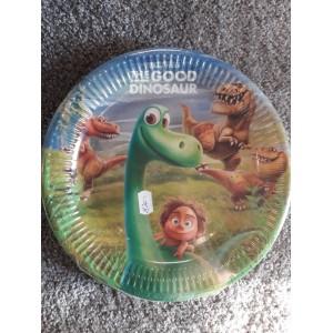 Dinós tányér