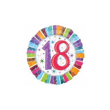 18 inch-es  18-as Születésnapi Fólia Lufi