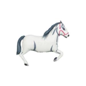 Fehér ló super fóliás lufi