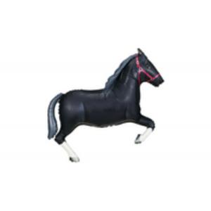 Fekete ló super fóliás lufi