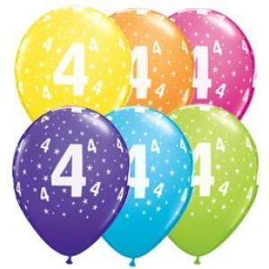 4-es számú 11' gumi lufi