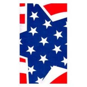 Amerikai zászlós parti asztalterítő