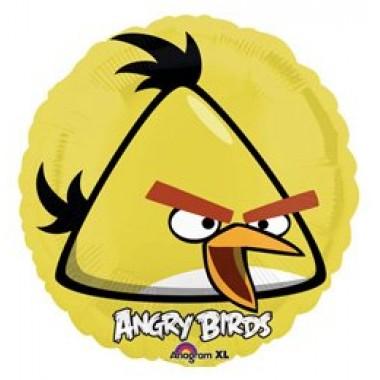 Angry Birds sárga 18' fóliás lufi