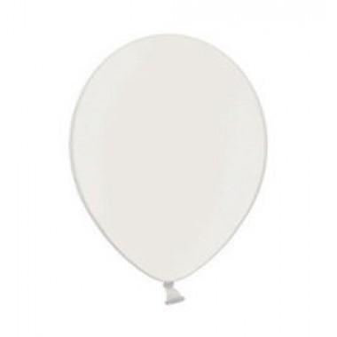 5' fehér  gyöngyház gumi lufi
