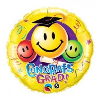 Ballagási gratulációs 18' fóliás lufi