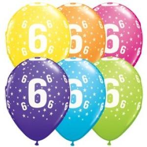 6-os számú 11' gumi lufi