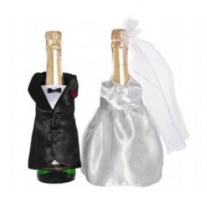 Üvegre húzható esküvői ruha