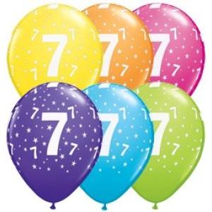 7-es számú 11' gumi lufi