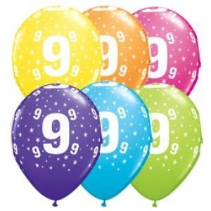 9-es számú 11' gumi lufi
