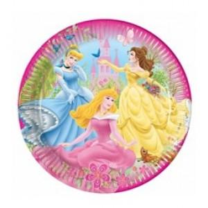 Hercegnős papír tányér