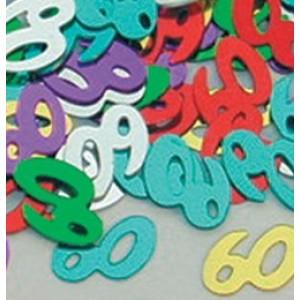 Konfetti számos 60-as