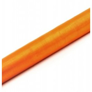 Organza narancssárga tekercs
