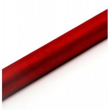 Organza piros tekercs