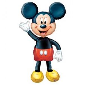 Sétáló Mickey fóliás lufi