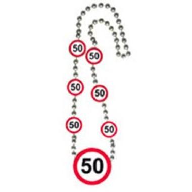 Számos sebességkorlátozós nyaklánc 50-es