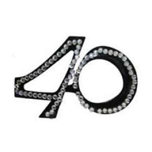 Szemüveg 40-es fekete