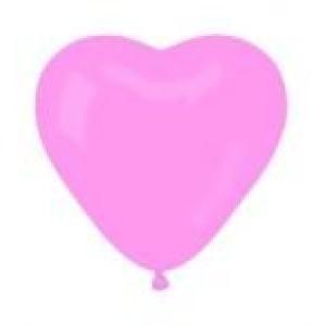 Szívforma gumi lufi 40 cm-es