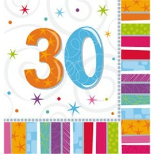 Szalvéta szülinapos 30-as
