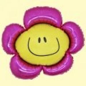 Virág super fólia lufi