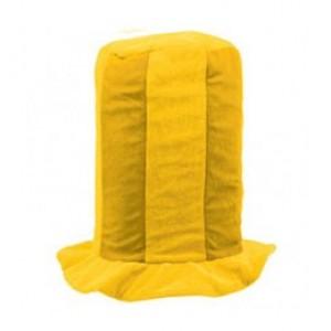 Sárga színű drukker kalap