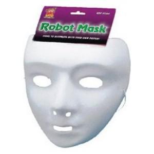 Robot parti gyerek álarc