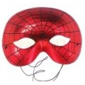 Pókemberes fényes maszk