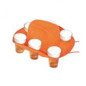 Pohártartós kalap narancssárga