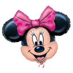 Minnie Mouse super shape fóliás lufi