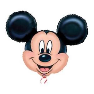 Mickey Mouse super shape fóliás lufi