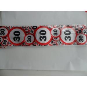 30-as sebességkorlátozós vállszalag
