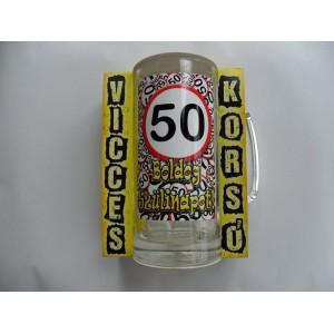 Vicces korsó 50-es