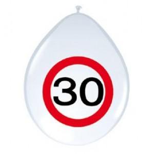 12' sebességkorlátozós 30-as számú  gumi lufi