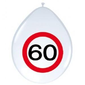 12' sebességkorlátozós 60-as számú  gumi lufi