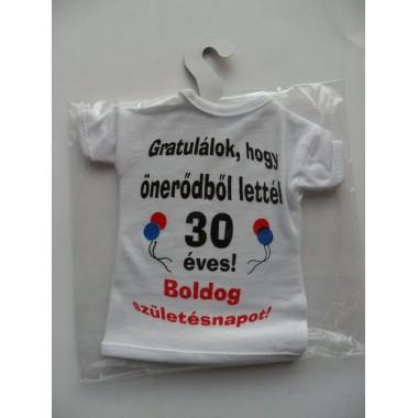 30-as mini póló