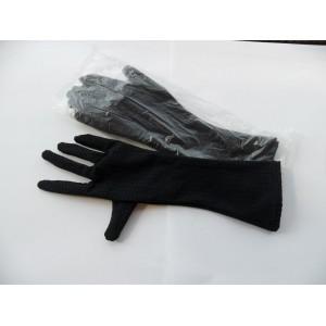 Fekete elasztikus kesztyű