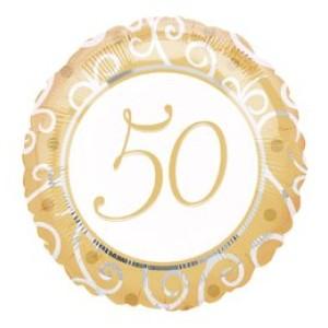 18' fóliás 50-es lufi